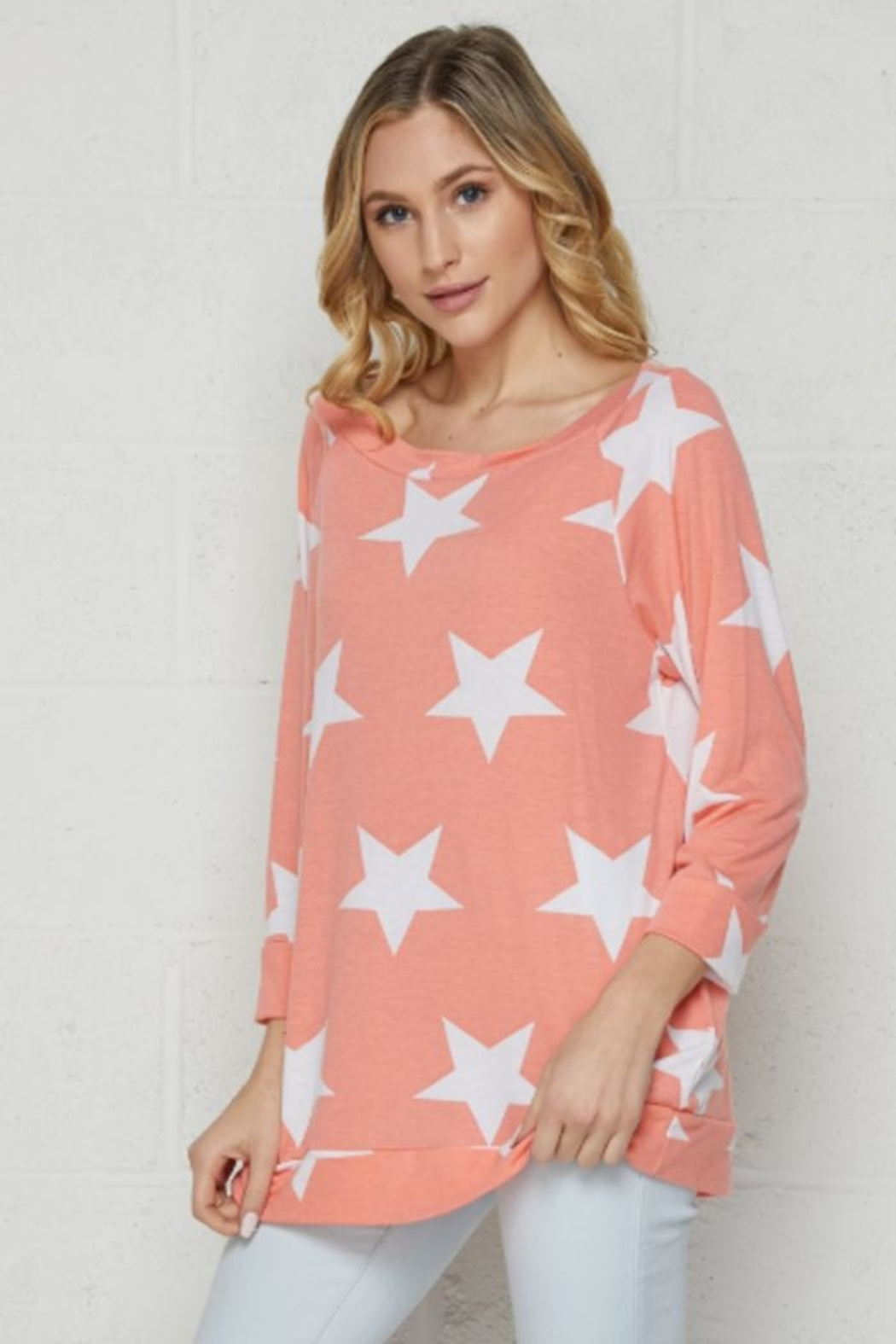 Elegance by Sarah Ruhs Star Print Top - Main Image