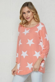 Elegance by Sarah Ruhs Star Print Top - Front cropped