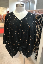 Adrienne Star Print Top - Product Mini Image