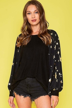 Fantastic Fawn  Star Print Top - Product List Image