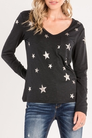 Miss Me Star Print Top - Product Mini Image