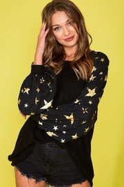 Fantastic Fawn  Star Print Top - Front full body