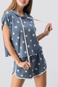 Trend:notes Star Print Top - Product List Image