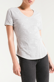 z supply Star print v-neck tee - Product Mini Image