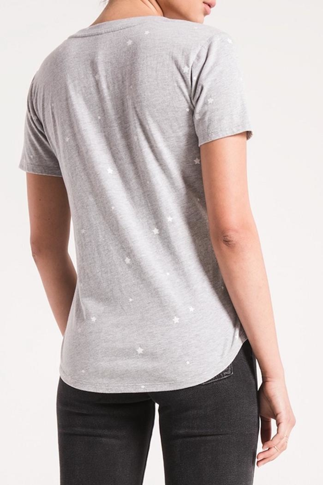 Zsupply Star Printed Tee - Front Full Image