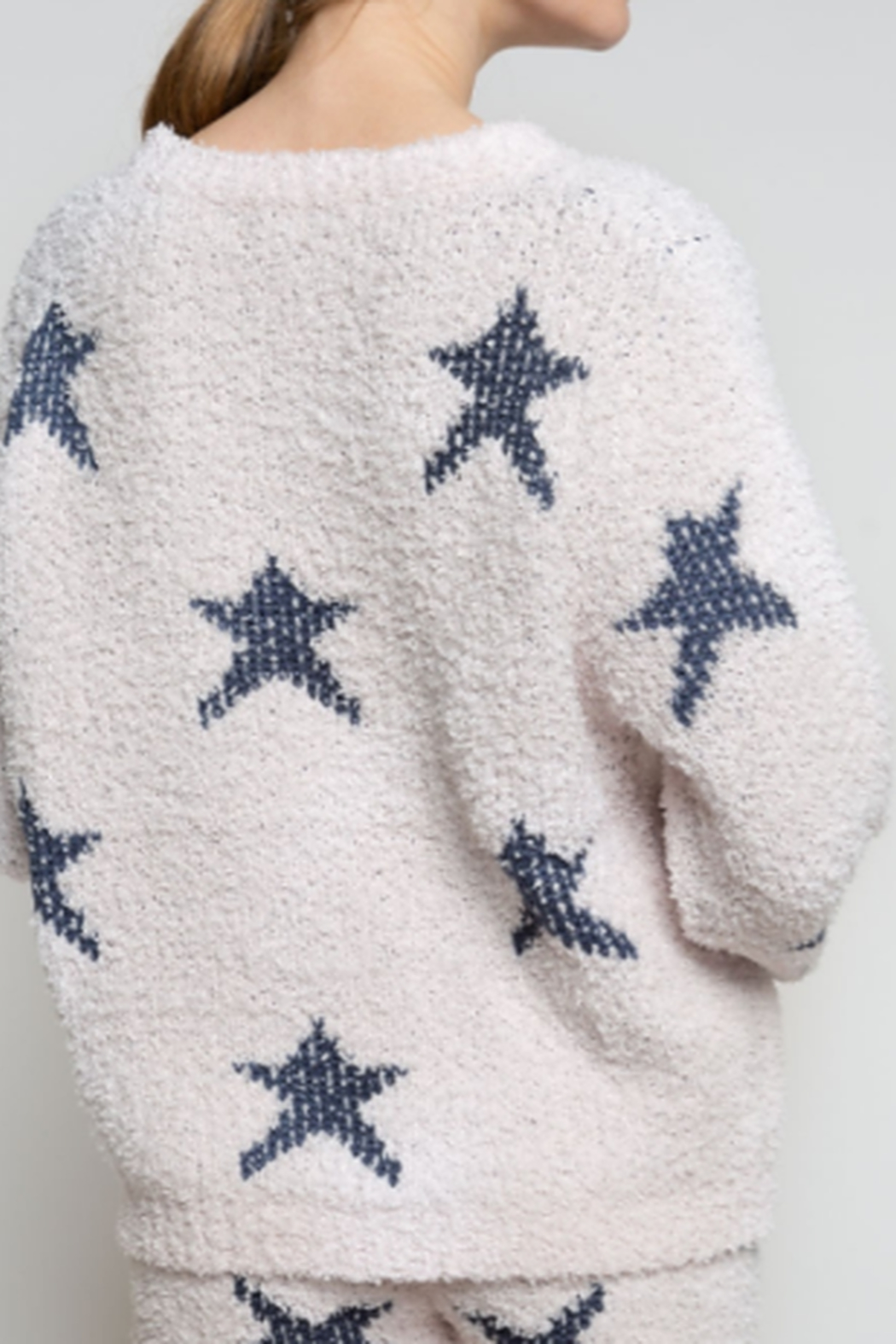 POL Star Pull Over Sweater - Front Full Image