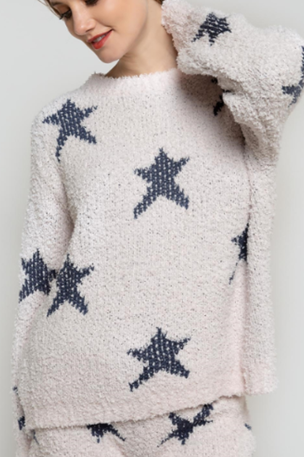 POL Star Pull Over Sweater - Main Image