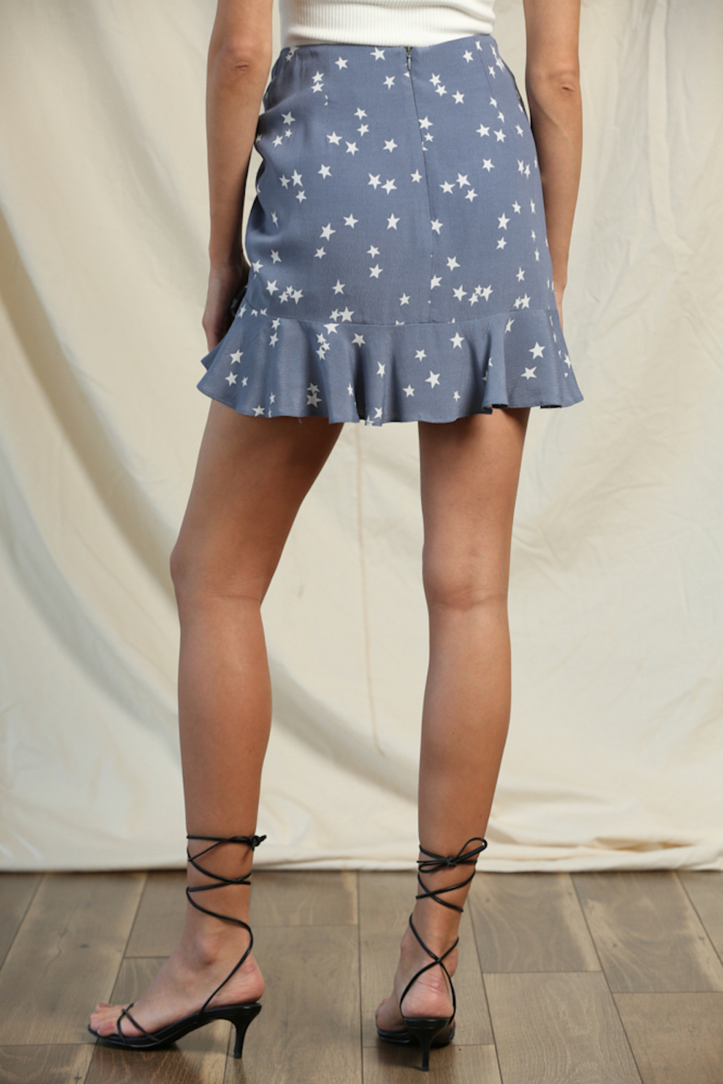 Blank Paige Star Ruffle Skirt - Front Full Image