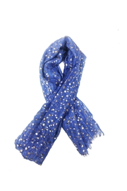 Lets Accessorize Star Scarf - Front full body