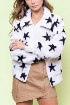 Le Lis Star Sherpa Jacket - Product List Image