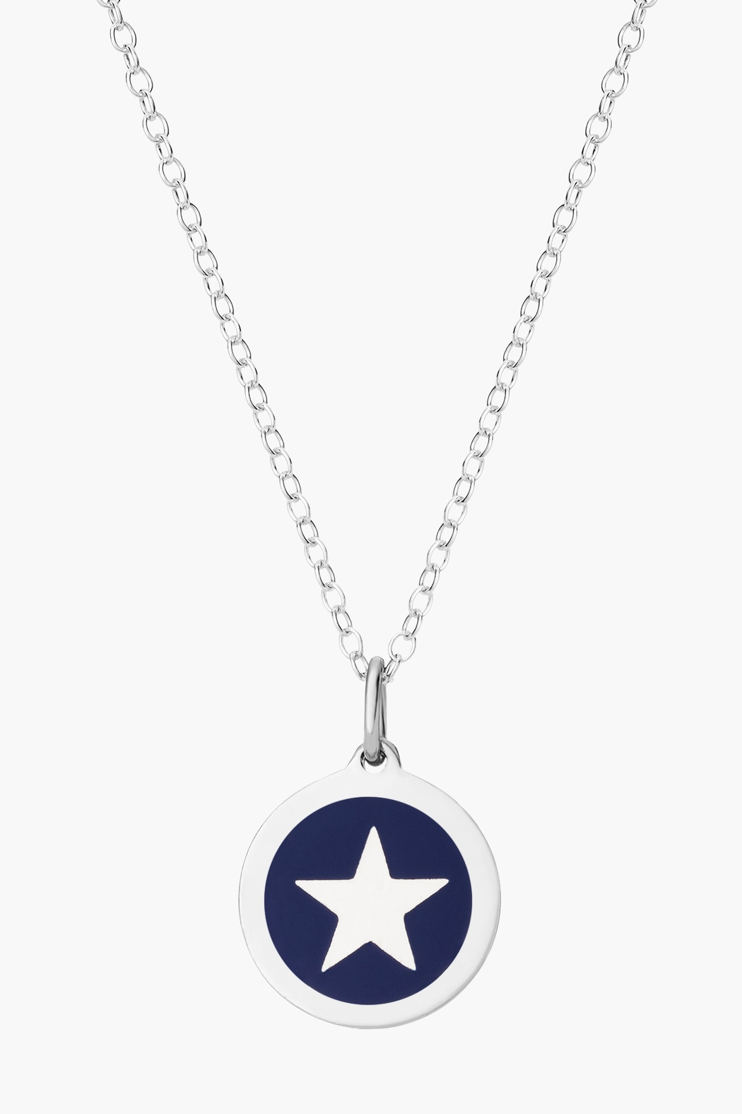 Auburn Jewelry Star Silver Pendant - Mini - Front Cropped Image