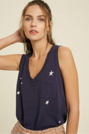 A Beauty by BNB  Star Print Top - Product Mini Image