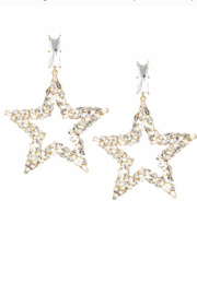 US Jewelry House Star Statementt Earring - Product Mini Image