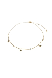Lets Accessorize Star-Stone Choker - Front cropped
