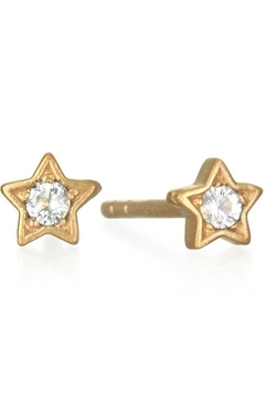 Satya Star Stud Earrings - Alternate List Image