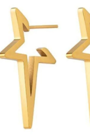 Sahira Jewelry Designs Star Studded Earrings - Front cropped