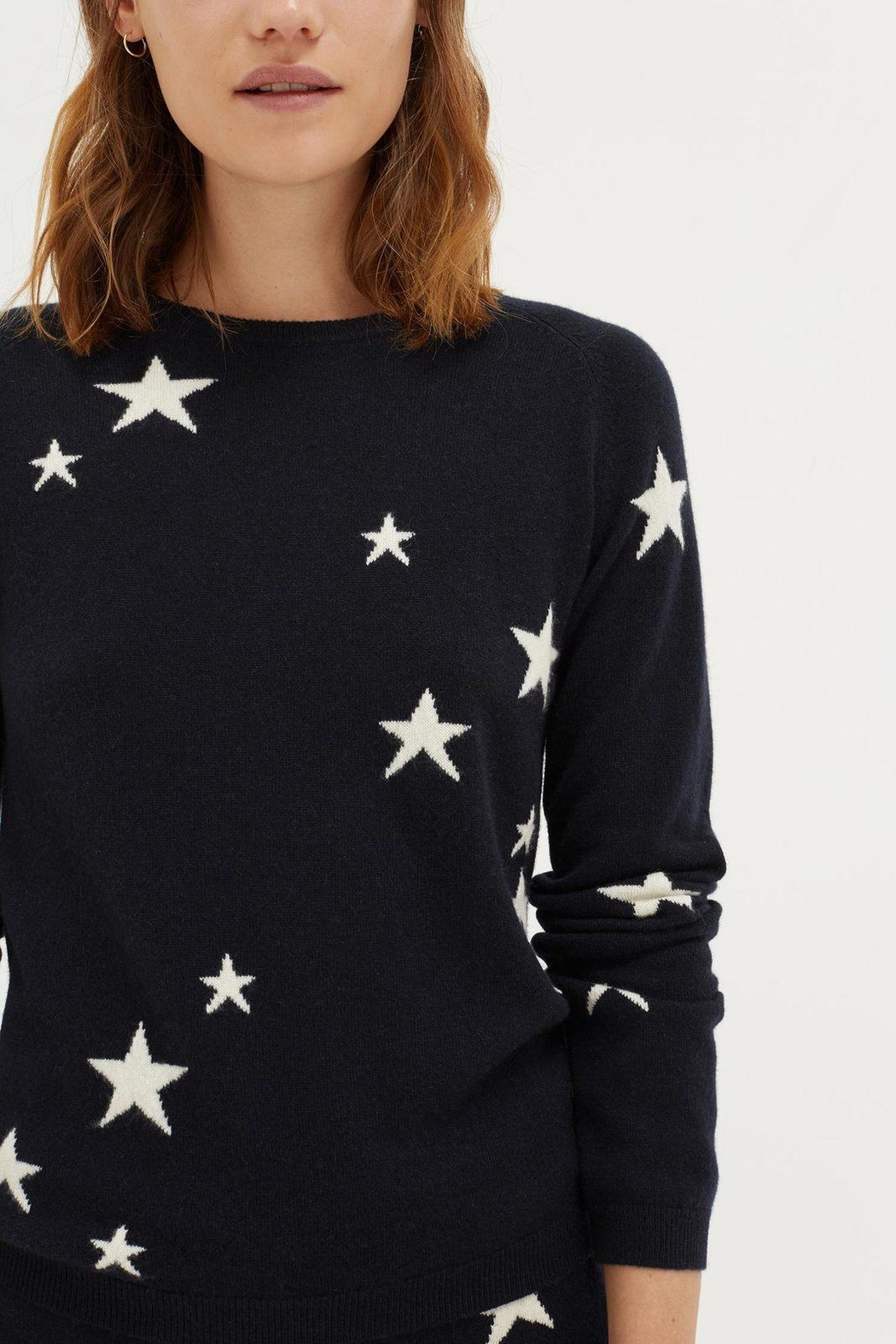 Chinti & Parker Star Sweater - Front Full Image