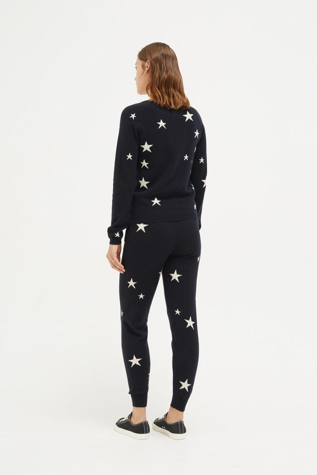 Chinti & Parker Star Sweater - Side Cropped Image
