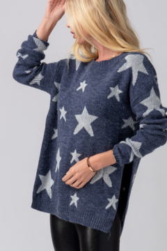 Trend Notes  Star Sweater - Alternate List Image