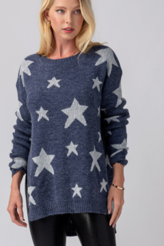 Trend Notes  Star Sweater - Product List Image