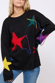 Fantastic Fawn Star Sweater - Front full body