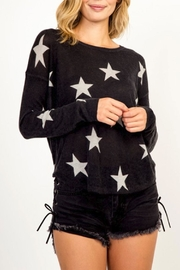 Olivaceous Star Sweater - Product Mini Image