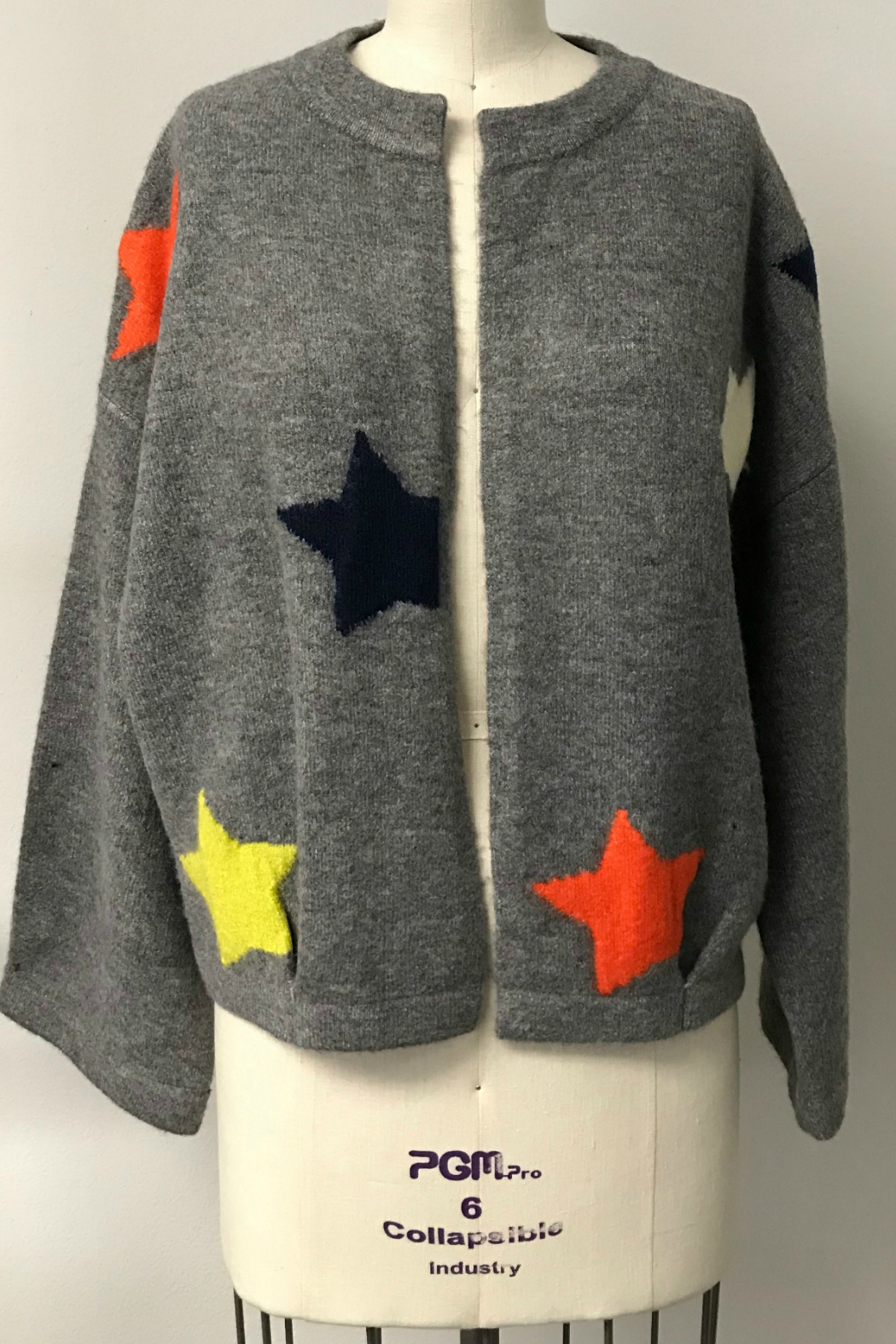 THML  Star sweater cardigan - Main Image