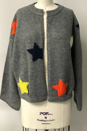 THML  Star sweater cardigan - Product Mini Image