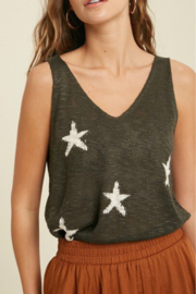 American Fit Star Sweater Top - Product Mini Image