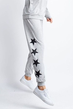 The Dressing Room Star-Trim Joggers - Product List Image