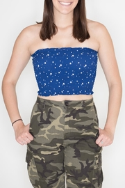 Wild Honey Star Tube Top - Product Mini Image