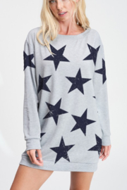 Phil Love Star Tunic Dress - Product Mini Image