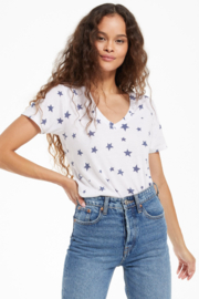 z supply Star V-Neck Tee - Front cropped