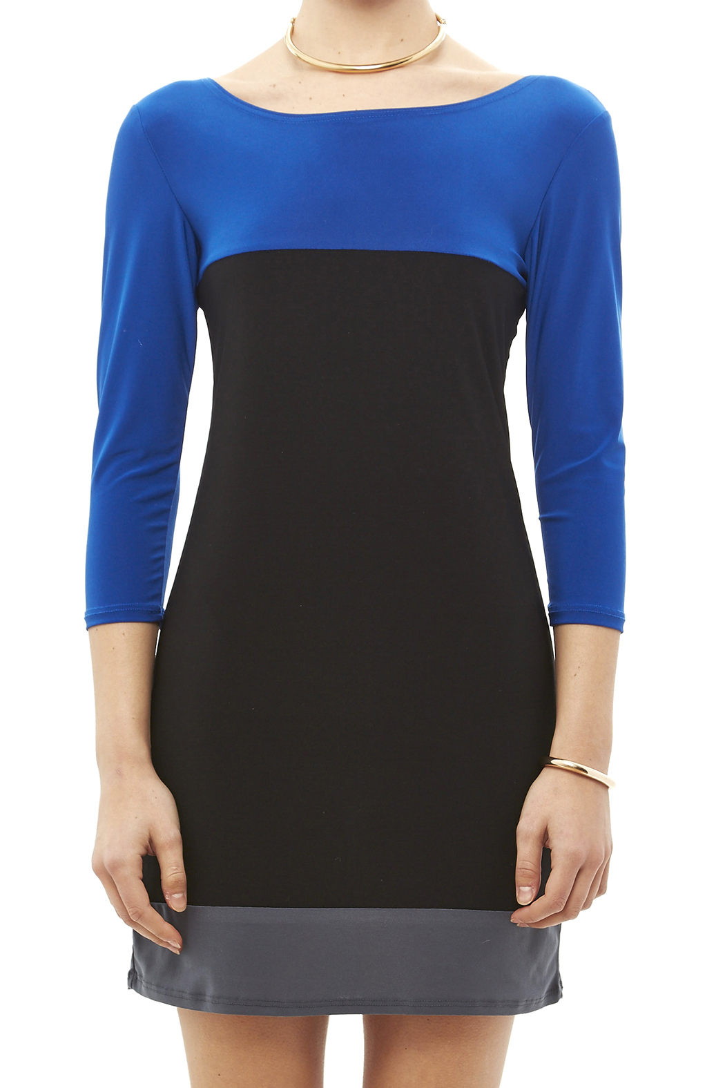 Star Vixen Color Block Tunic - Side Cropped Image