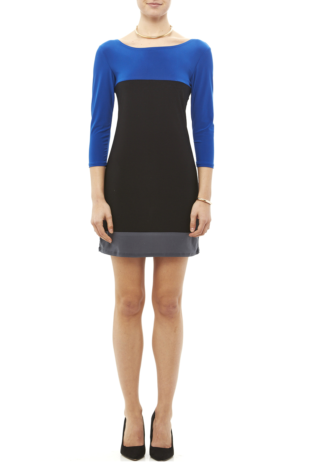Star Vixen Color Block Tunic - Front Full Image