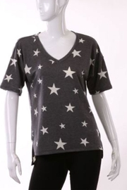ENTI Star Vneck Top - Front cropped
