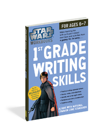 Workman Publishing Star Wars Workbook 1st Grade Writing Skills - Product Mini Image