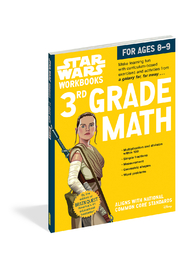 Workman Publishing Star Wars Workbooks 3rd Grade Math - Product Mini Image