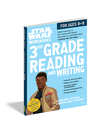 Workman Publishing Star Wars Workbooks 3rd Grade Reading And Writing - Product Mini Image