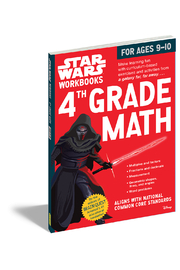 Workman Publishing Star Wars Workbooks 4th Grade Math - Product Mini Image
