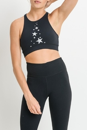 Mono B Star Zippered_racerback_sportsbra - Product Mini Image