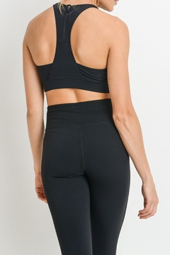 Mono B Star Zippered_racerback_sportsbra - Alternate List Image