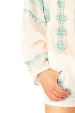 Shoptiques Product: Jade Embroidered Top