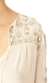 Star Mela Mirror Embroided Top - Front full body
