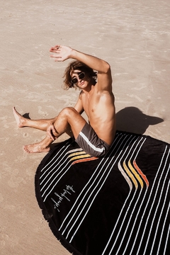 the beach people Starboard Round Towel - Product List Image