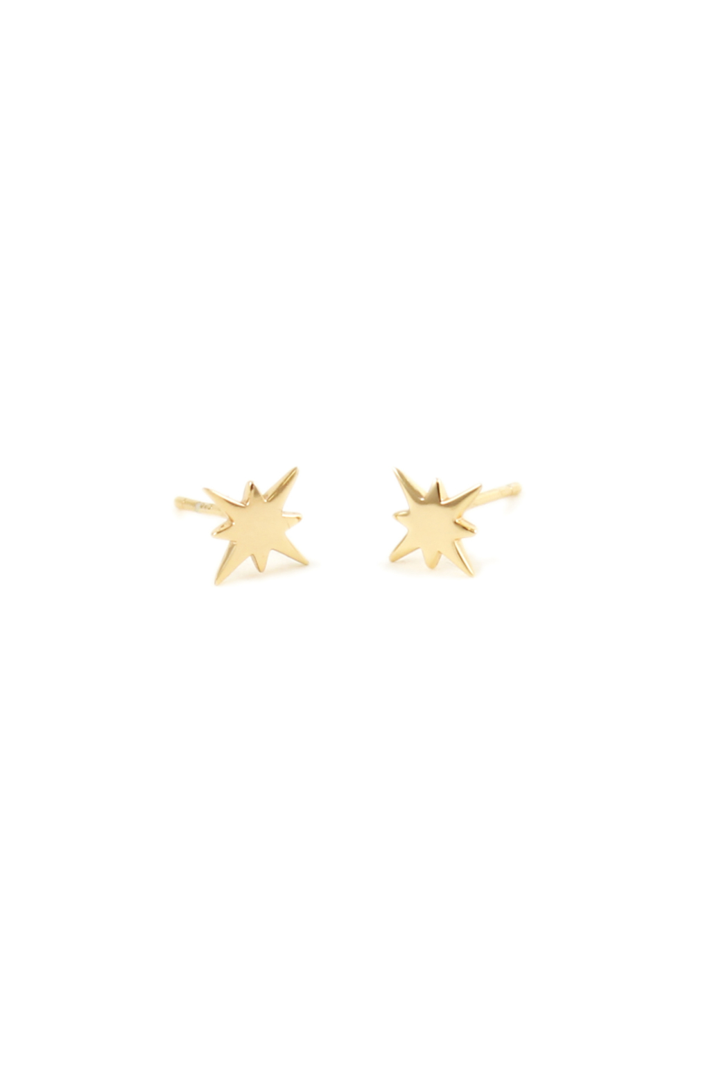 Kris Nations STARBURST EARRINGS - Front Cropped Image