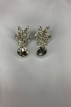 Shoptiques Product: Starburst Earrings with teardrop accents