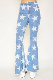 R+D  Stardust Bell Bottoms - Side cropped
