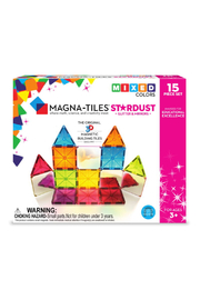 Valtech - MagnaTiles Magna-Tiles Stardust Glitter and Mirrors 15 Piece Set - Product Mini Image