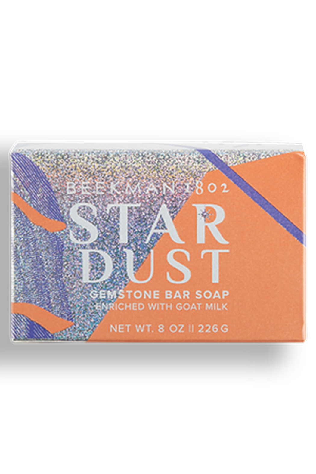 Beekman Stardust Shimmer 8 oz Bar Soap - Front Cropped Image